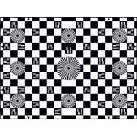 China Photographic Paper SineImage YE006 Chessboard Test Chart Reflectance wholesale