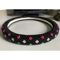 China Colorful Plastic Beads Car Steering Wheel Cover Cool In Summer wholesale