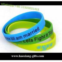 China colorful promotional gifts embossed-debossed silicone bracelet/silicone wristband wholesale