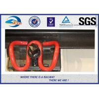 China SKL14 Oxide Black Elastic Rail Clips Galvanized Clamp as Railway Fastening System on sale