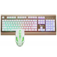China Easy Operation Pc Gaming Keyboard And Mouse Set Water Resistant Design wholesale