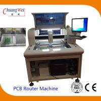 China High Efficient PCB Singulation Circuit Board Router Equipment on sale