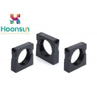 China Nylon Plastic Hose Clamps Flexible Corrugated Conduit Pipe Clamp In Black wholesale