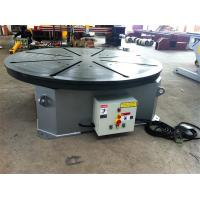 Buy cheap Horizontal Rotation Welding Turn Table with Stepless Frequency Adjustment Speed Control from wholesalers