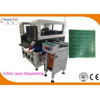 Buy cheap PCB 355nm Laser Depaneling Machine For SMT Production Line 110V / 220V from wholesalers