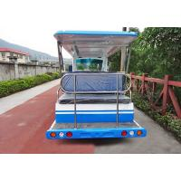 Quality Square Amusement Park Electric Tractor , CE Electric Sightseeing Vehicles for sale
