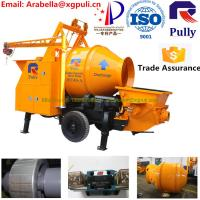 China JBT40-P1 high capacity concrete cement mixer pump trailer used concrete pumps concrete mixer wholesale