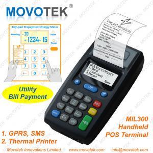 China Movotek Prepaid Electricity Vending Machine GPRS POS Terminal on sale