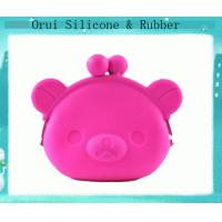 China Shenzhen silicone  manufacturer of  3D cartoon silicone purse wholesale