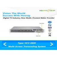 Wholesale IPTV OTT DVB Multi screen  trans-coding system for Digital Media Content Creation from china suppliers