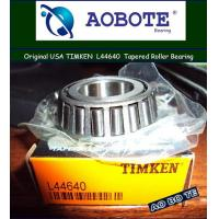China Timken L44640 Tapered Roller Bearing Gcr15 with Radial Load for Motorcycle wholesale