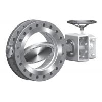 Quality Tripple Centric API609 Butterfly Valve , Electric Pneumatic Cast Steel Butterfly for sale