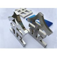 China Mirror Customized LED Channel Letters for Advertising Non Illuminated wholesale