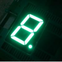 "China Seven Segment Display Common Anode / Pure - Green 1.5"" Single Digit Led Display wholesale"