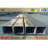 China Decorate Seamless Rectangular Steel Tube / Q235 12m Thick Wall Pipe wholesale