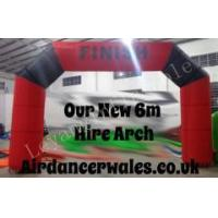 China Red & Black 6m wide Arch wholesale