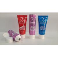 China 150G Large Orifice Aluminum Barrier Laminated Tubes , Facial Cleaner Cosmetic Tube Packaging wholesale