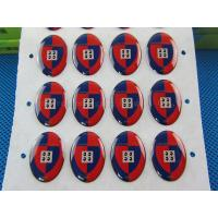 China Promotional gift epoxy resin stickers wholesale