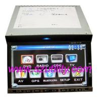 China 7inch fully motorized touch screen double din car dvd player,bluetooth,TV,GPS on sale