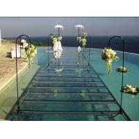 China Swimming Pool Toughened Glass Stage 1.22 X 1.22M For Wedding wholesale