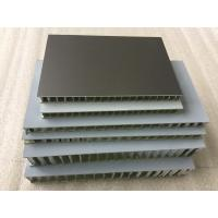 China Black FEVE Aluminum Honeycomb Panels , Fireproof Honeycomb Structural Panels  wholesale
