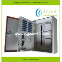 Water Proof Fiber Distribution Box , Wall Mounted Cold Rolled Steel Body