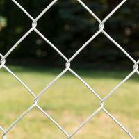 China Galvanized chain link fence panels/Cyclone Fence,2.4mx10mx50x50mmx2.5mm wholesale