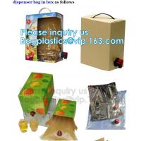 China Wine Juice Bag in box packaging 3l 5l 10l plastic wine bags,Fruit Juice Beverage Syrup Wine Bag In Box With Valve bageas wholesale