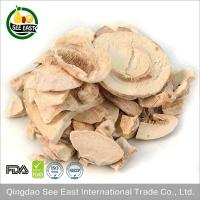 Quality Freeze Dried Button Mushroom Flakes top grade GMP Factory Golden Supplier for sale