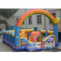 Quality Customized Inflatable SpongeBob Kid Playground Inflatable With Arch for sale