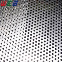 China Galvanized steel perforated metal sheet wholesale
