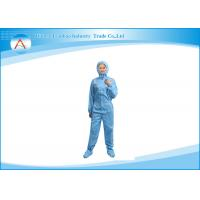 100% Polyester workwear Clean Room Attire for ESD protective