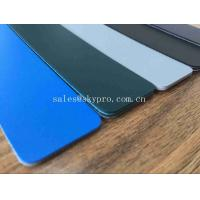 China Colorful Matt Large Output PVC Surface PVC Conveyor Belt with Fabric Abrasion resistant wholesale