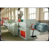 Quality Non Corrosion HDPE Pipe Extrusion Machine / Plastic Pipe Production Line for sale