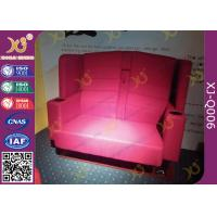 China Commercial Furniture VIP Cinema Theater Seating Chairs With Headrest wholesale