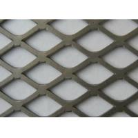 China Trailer Flooring Expanded Metal Mesh Powder Coated Surface Treatment wholesale