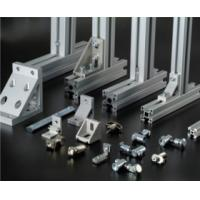 China Silvery Anodized extruded aluminium profiles For Production Line wholesale