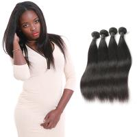 China Genuine Grade 9A Straight Virgin Hair Weave No Synthetic Hair OEM Service on sale