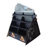 China Custom Corrugated cardboard floor countertop display stands for exhibiting and showing wholesale