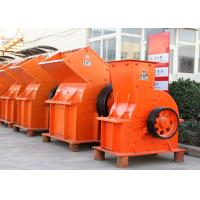 China Orange Impact Hammer Mill Crusher 30 M3 / H Capacity For Electric Power wholesale