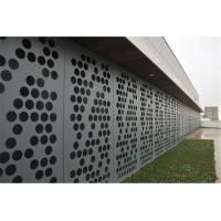 China Curtain Wall / Cladding Perforated Metal Ceiling Panels 2.5mm / 3mm Aluminium Sheet wholesale