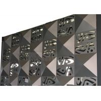 China Perforated Aluminum Panels Customized To Customer's Designs Of Facade Decoration wholesale
