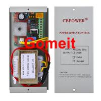China Electromagnetic Lock Power Supply , 12 Volt 5 Amp Door Access Power Supply 50Hz wholesale