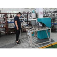China Low Noise Glass Double Edging Machine , Variable Miter Small Glass Grinder wholesale