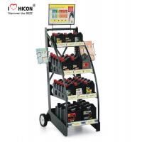 China Custom Brand Retail Store Fixtures Oil Rack Lubricant Display Motor Oil Display Stand wholesale