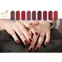 China 15ML Glossy Free Samples Color UV LED Gel Nail Polish , Led Light Nail Polish wholesale