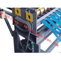 China Automatic Slitting Machine Line Composed of Uncoiler , Pinch / Leveling , Slitting , Recoiler wholesale