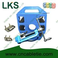China LKS-B1 Series Stainless Strapping Band with Ear-Lokt Buckle and LKA Style Banding tool wholesale