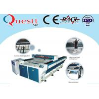 China Plastic Laser Engraving Machine For Textile Cloth , 200W Laser Engraving Machinery wholesale