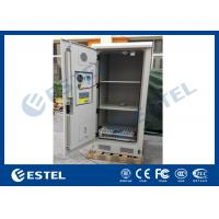 China Weatherproof Battery Outdoor Electronics Cabinet Anti Corrosion Coating wholesale